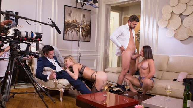 """Behind the scenes of """"Luxure - The education of my wife"""""""