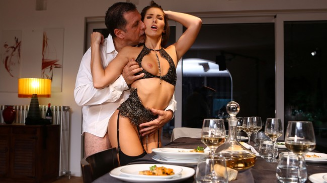 A submissive for dinner